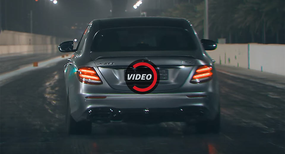 Mercedes-AMG-E63-S-Drag-Racing