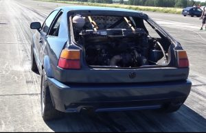 VW Corrado twin engine