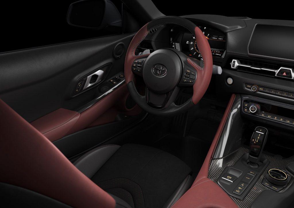 Toyota Supra kabine