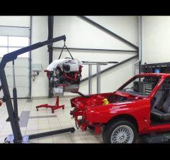 Schmiedmann BMW M3 E30 EVO2 S14 engine