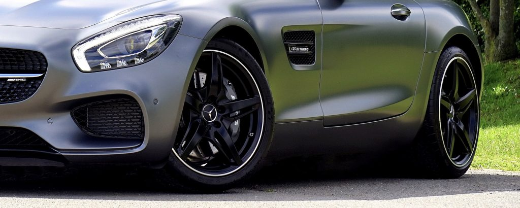 Nye dæk til bilen