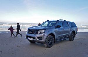 Nissan Navara test i Skagen af Kasper Erling fra Boosted