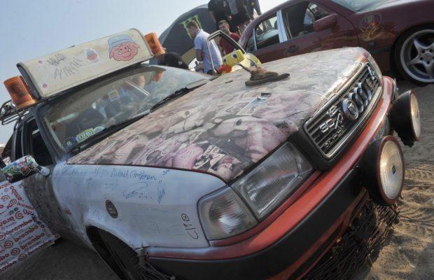 Danmarks grimmeste bil 2019 til DHB på Padborg Park