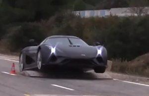 Crashtest af Koenigsegg
