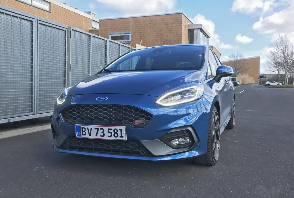 Test af Ford Fiesta ST