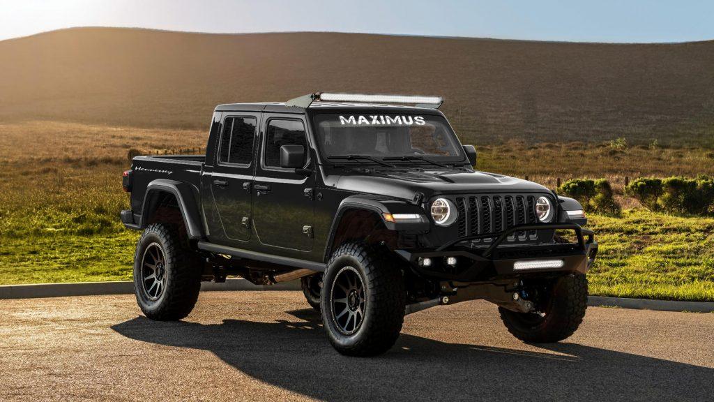 Hennesseys helveds-pickup: Jeep Gladiator med 1.000 hk ...