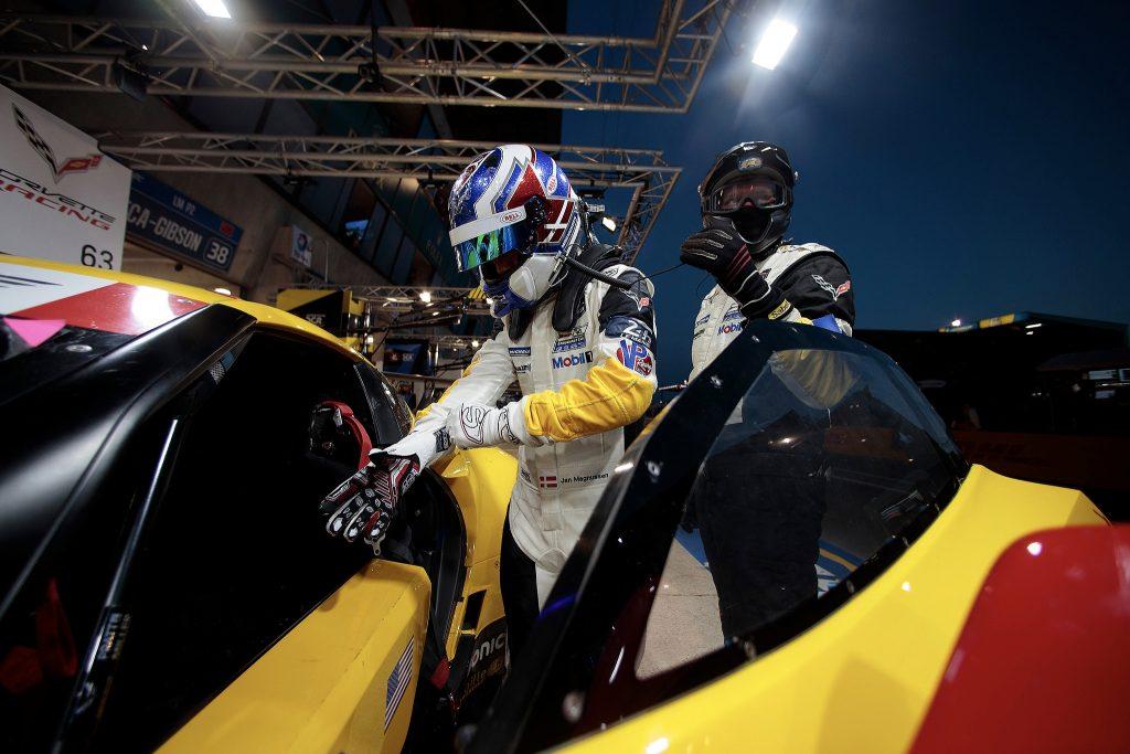 Jan Magnussen Le Mans Corvette