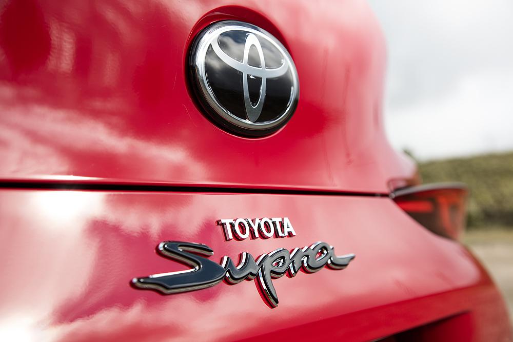 Toyota Supra til Auto Show i Odense