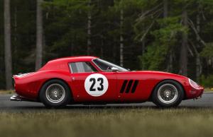1962 Ferrari 250 GTO - solgt for $48 millioner i 2018.