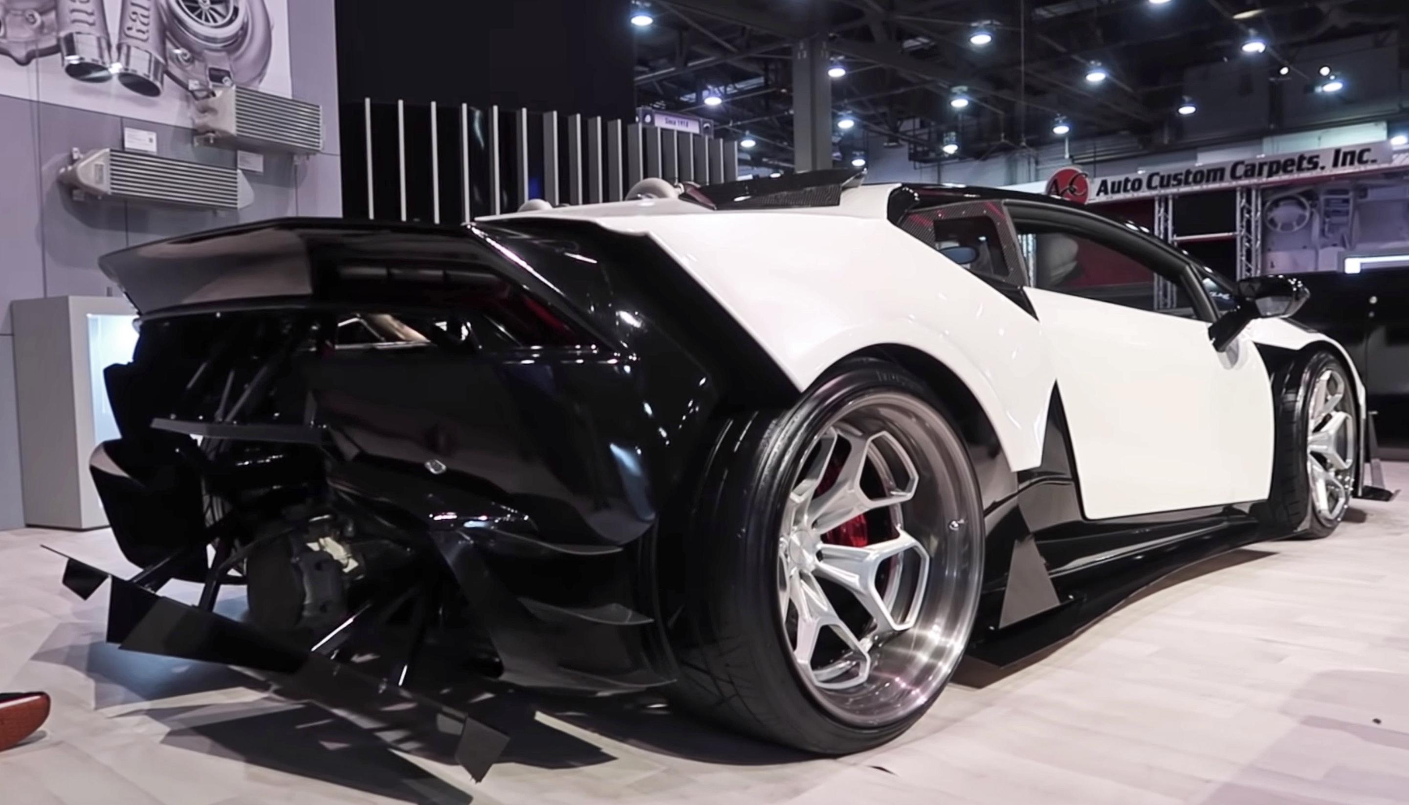 LS swapped Lamborghini