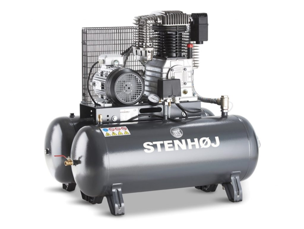 Stenhøj kompressor fra Cartools