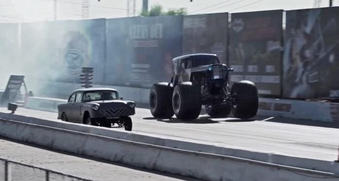 Monster truck ræs