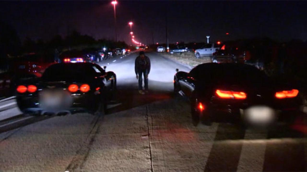 Travl weekend: 29 får bøder ved ulovligt gaderæs
