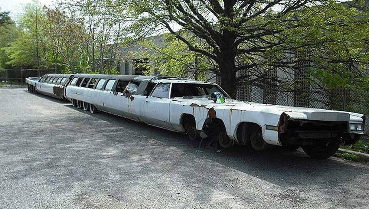Monster-limo med 26 hjul er verdens længste bil