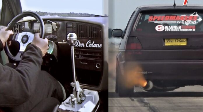 Verdens hurtigste VW Golf II