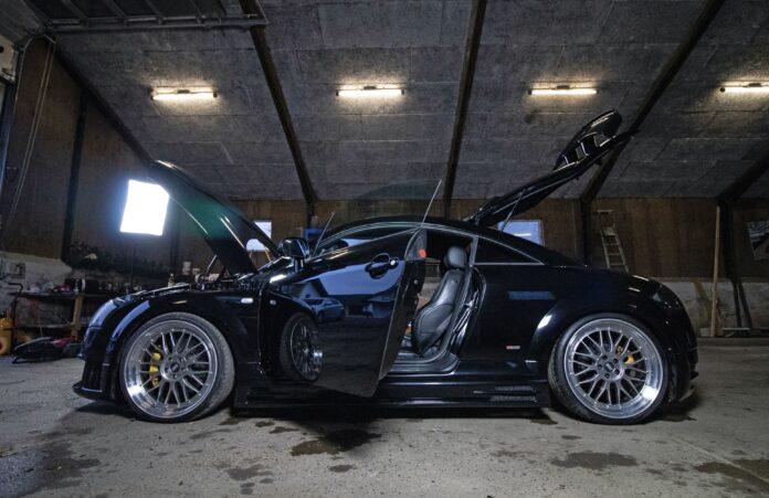Audi TT Vmax Boosted