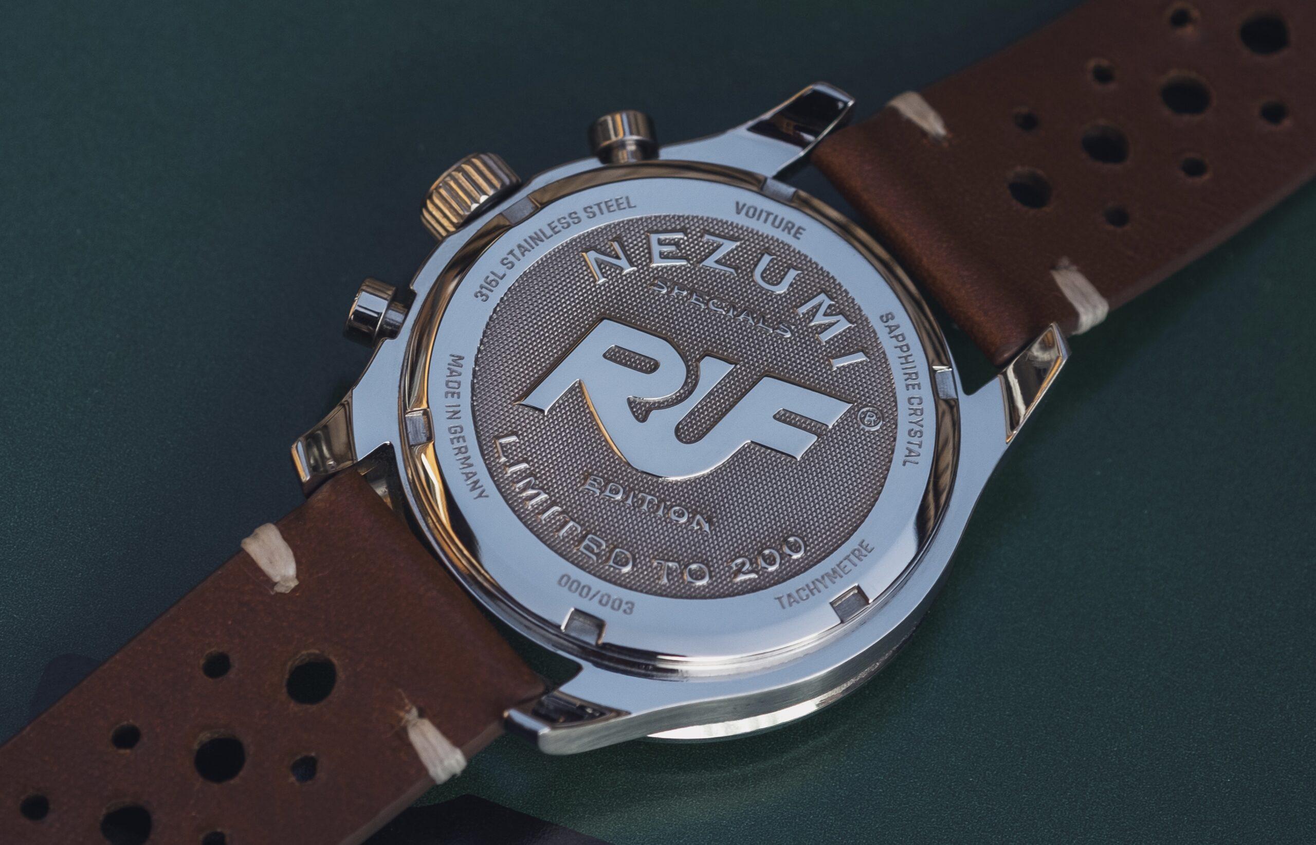 NEZUMI X RUF Voiture chronograph ref. VQ2S.901