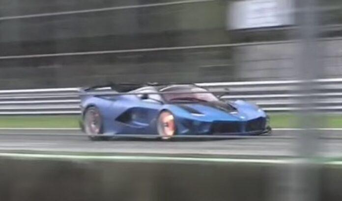 Ferrari FXX-K Evo sound