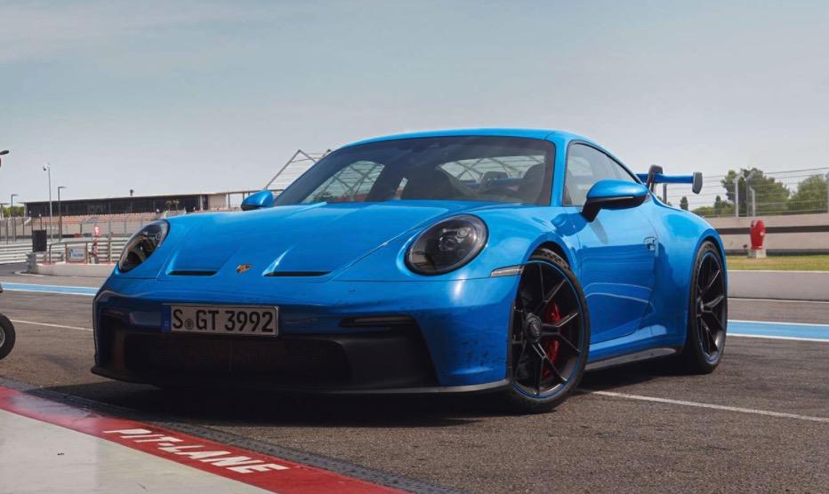 Ny Porsche 911 GT3 992
