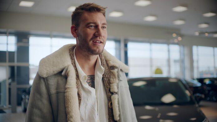 Niklas Bendtner beslaglagt Porsche