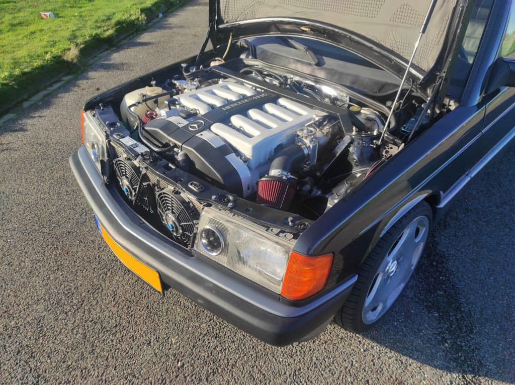 Mercedes W201 V12