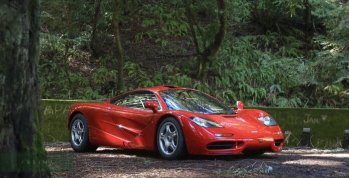 McLaren F1 på auktion