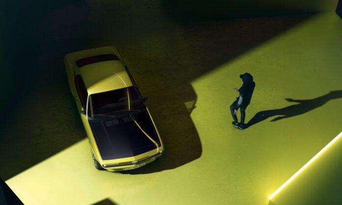 Opel Manta som elbil