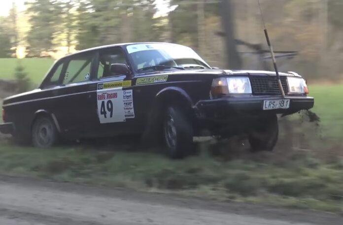 Volvo kører rally