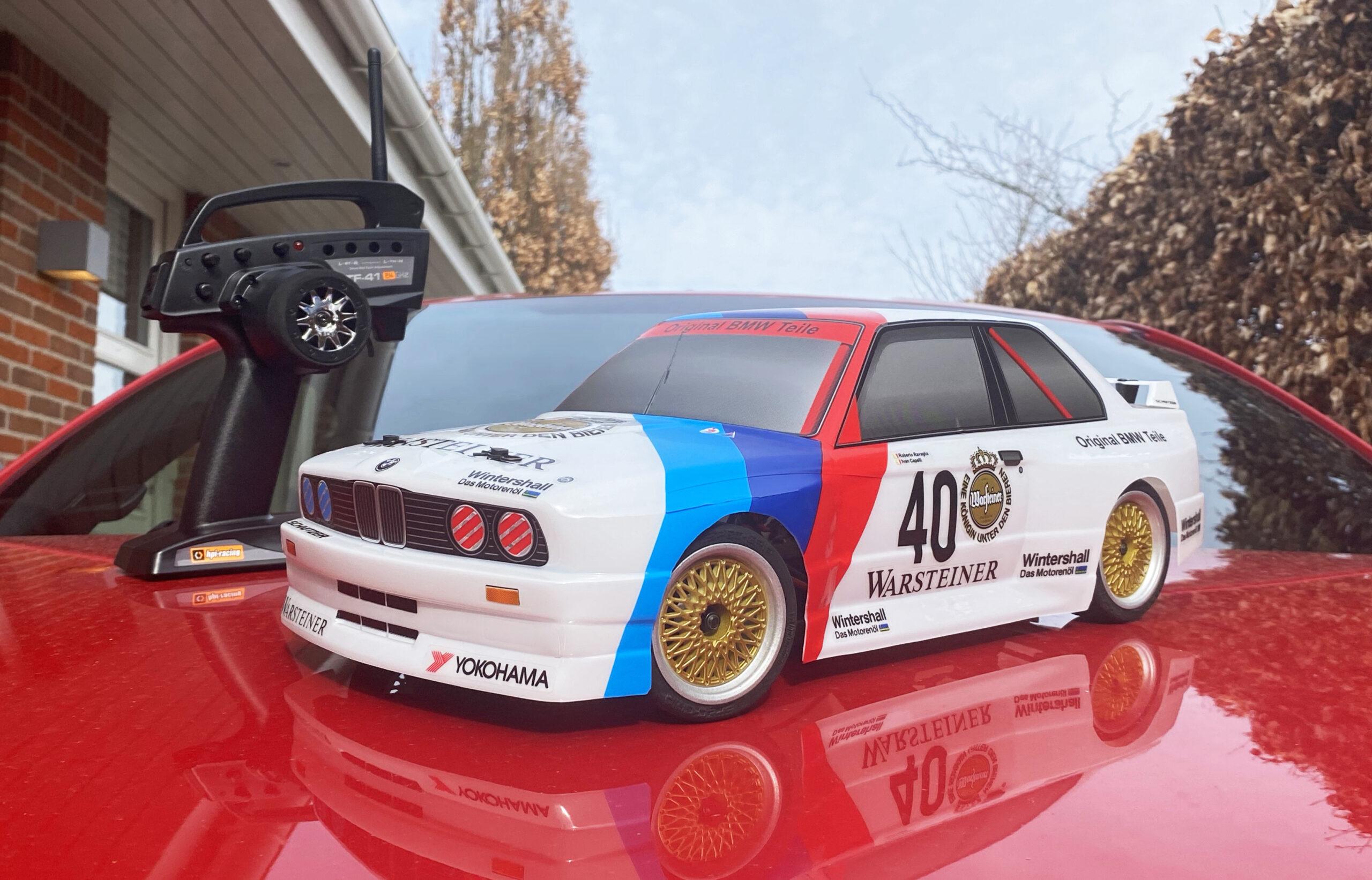 Morfars BMW E30 HPI RS4 Sport