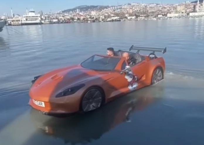 Corvette C7 Boat