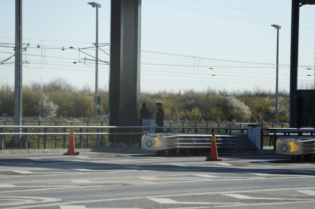 Fartmåling på Øresundsbroen