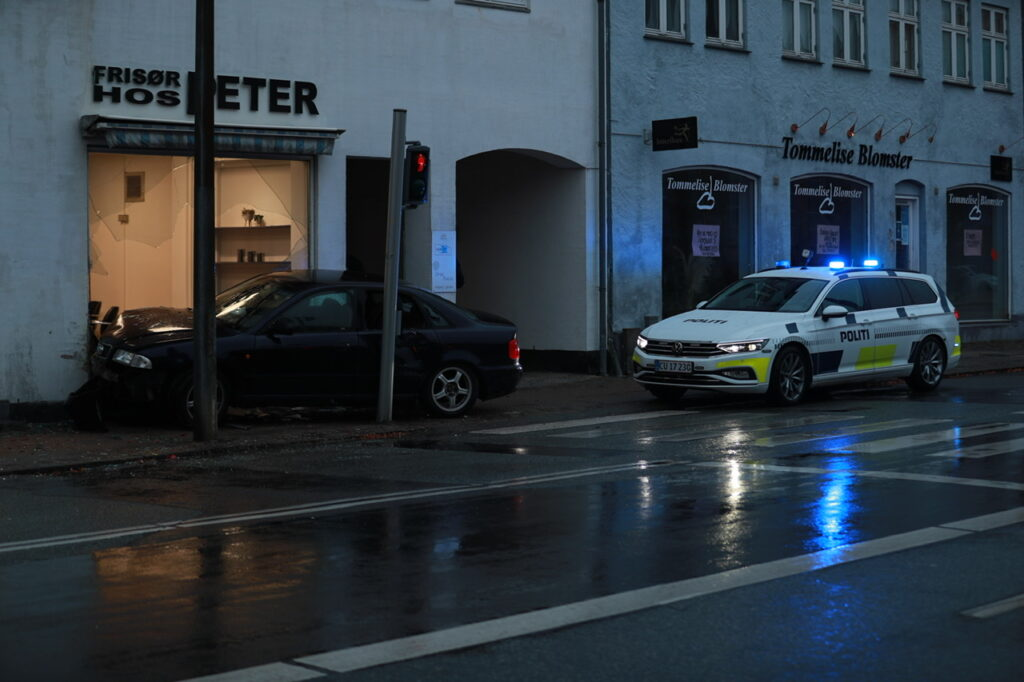 Audi uheld Slagelse