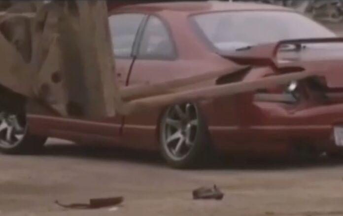 Smadrer Nissan Skyline