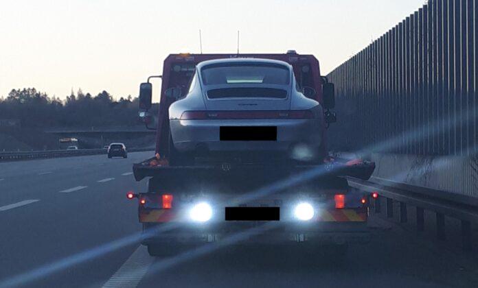 Beslaglagt Porsche 911
