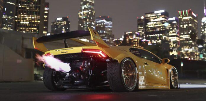 Lamborghini Huracan Liberty Walk twinturbo
