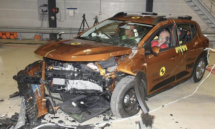 Dacia dumper i crashtest