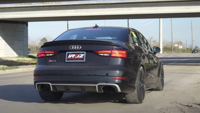 Verdens hurtigste Audi RS3