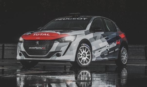 Peugeot 208 Rally 4 til salg