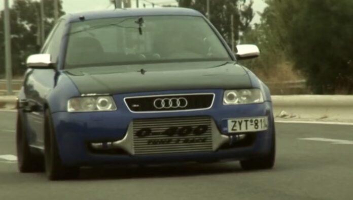Tunet Audi S3