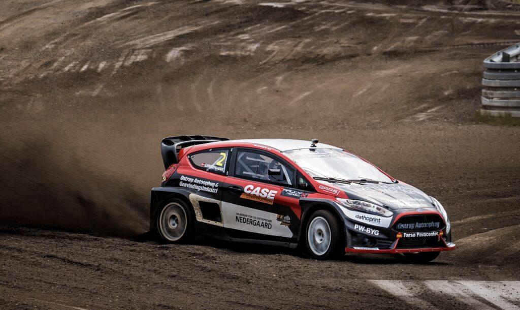 Ulrik Linnemann slog verdensmesteren i Rallycross