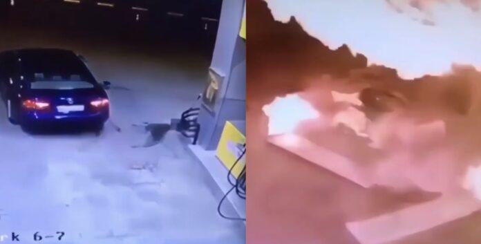 Eksplosion på tankstation