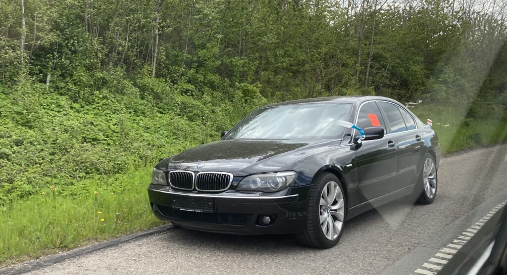 Forladt BMW 7-serie