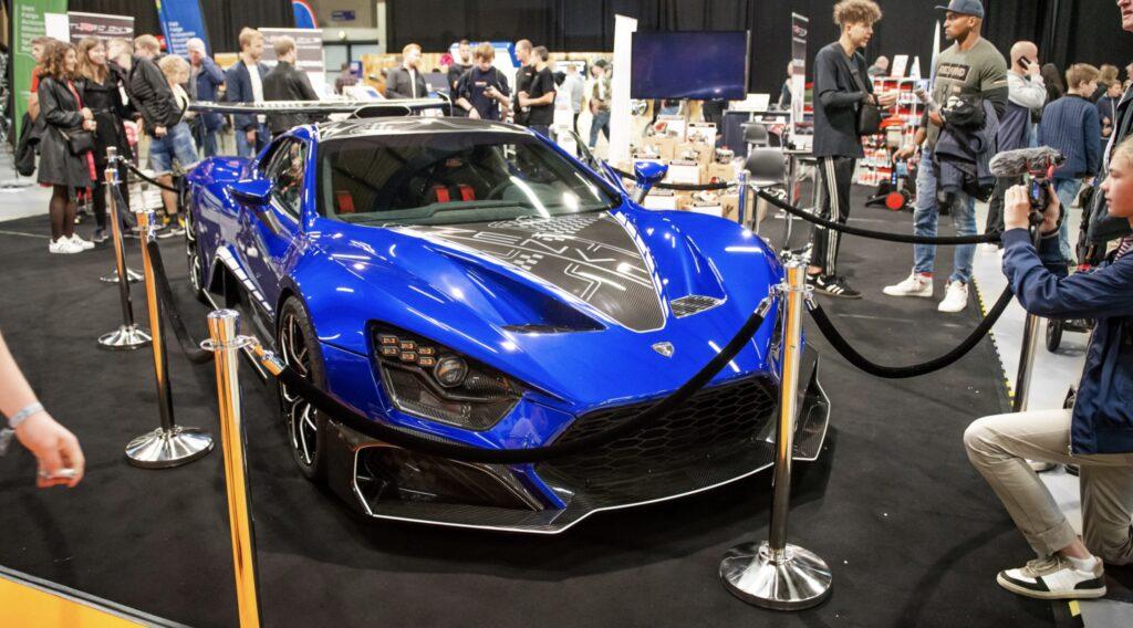Zenvo på TurboDK stand til Auto Show