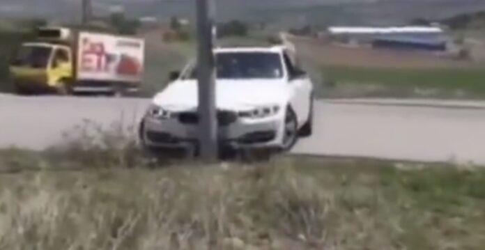 BMW kører galt