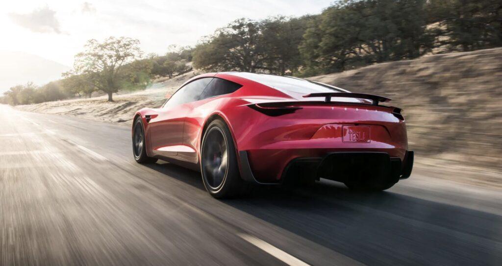 Tesla Roadster 1,1 sekund