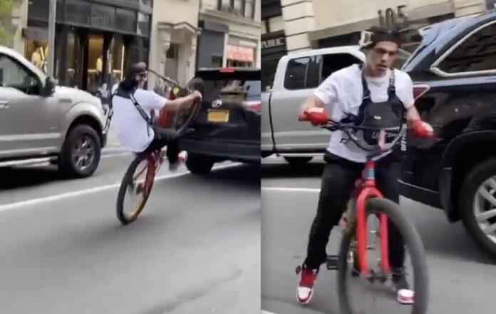 Cykel rammer bil