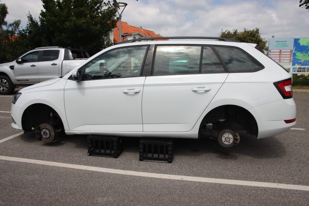 Fik stjålet hjul i Vordingborg