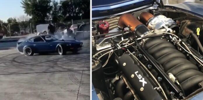 LS-motor i Datsun 260Z