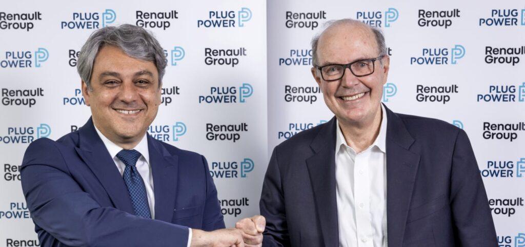 Renault Group og Plug Power danner virksomheden HYVIA