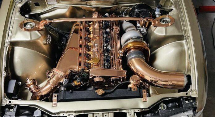 Kobberbelagt RB-motor